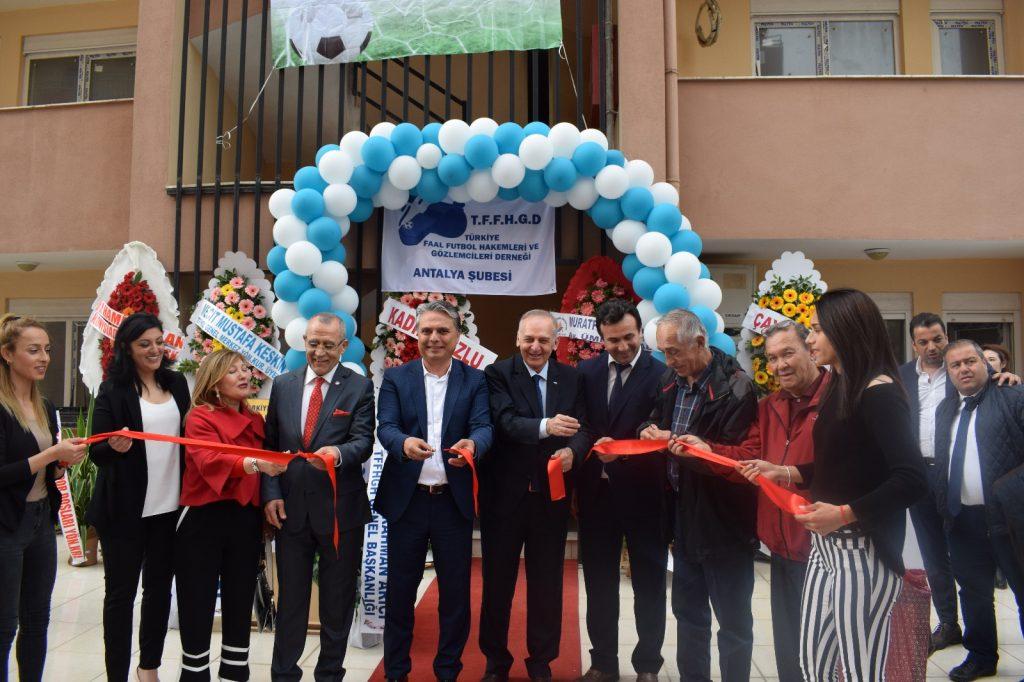 TFFHGD Antalya Şubesi Hizmet Binasının Açılışı
