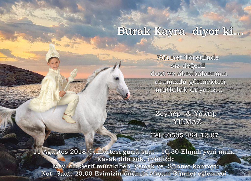 Sünnet Düğününe Davet