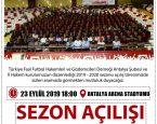 2019-2020 FUTBOL SEZONU AÇILIŞI