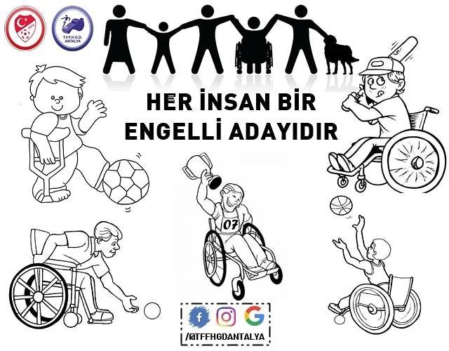 3 Aralık Dünya engelliler günü ♿