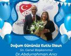 Mutlu yıllar Sn.Dr.Abdurrahman Arıcı