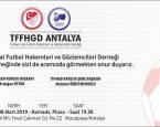TFFHGD ANTALYA GALA GECESİ