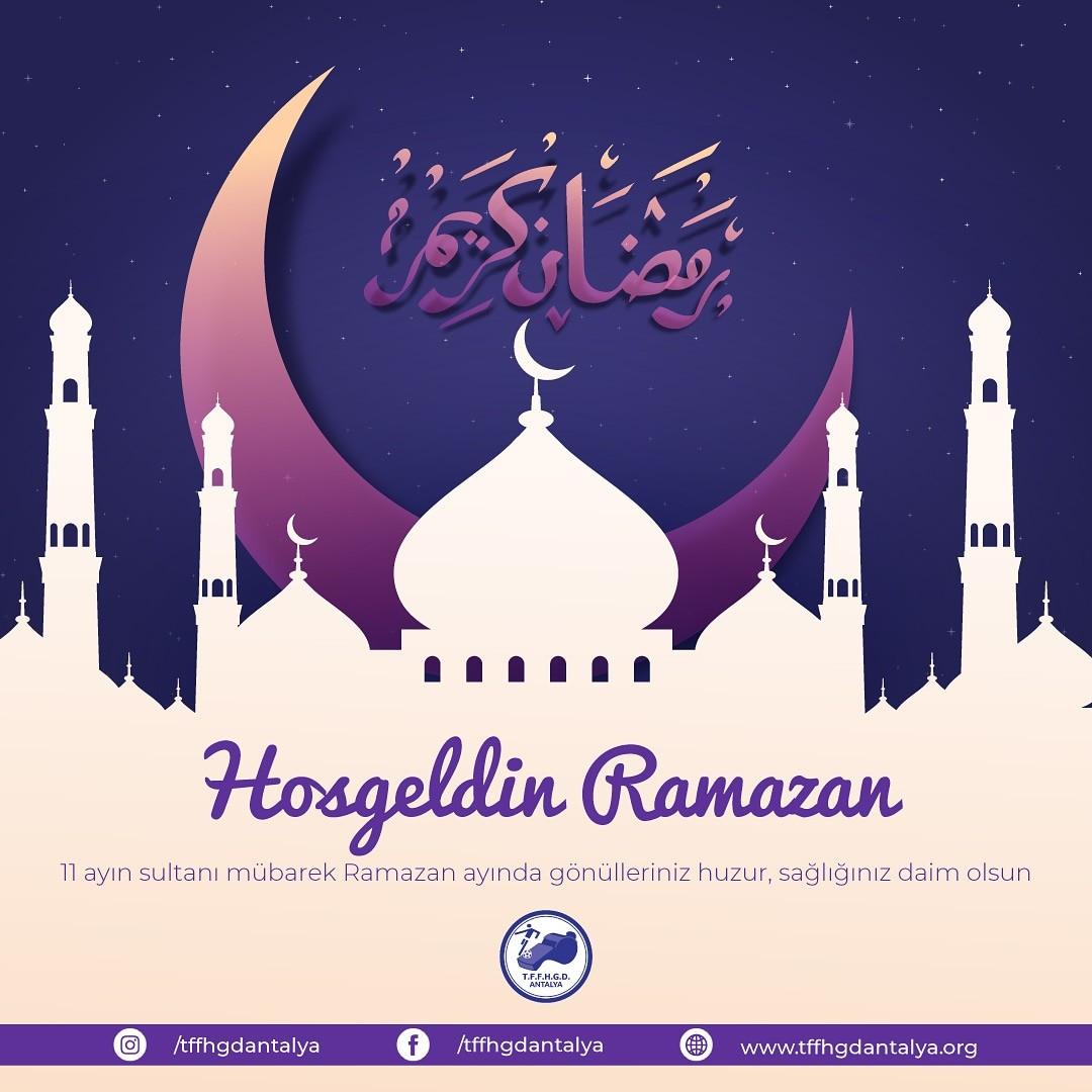 Hoşgeldin Ramazan 🕌🇹🇷